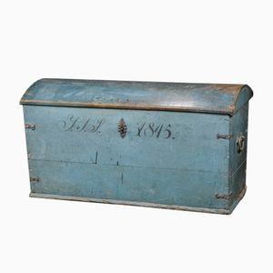 Antique Blue Trunk, 1845