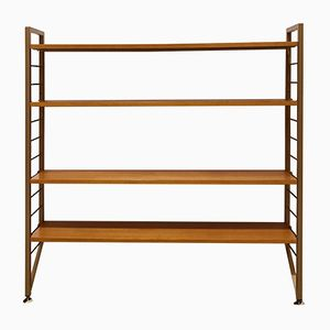 Mid-Century Teak Ladderax Shelving Unit from Staples, 1960s