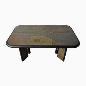 Brutalist Stone Coffee Table by Paul Kingma, 1970s
