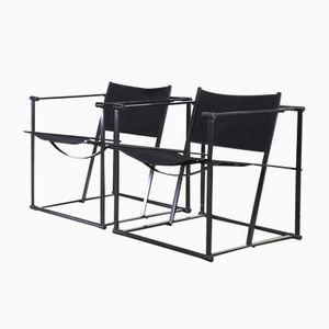 Vintage FM6O Cubic Chairs by Radboud Van Beekum for Pastoe, Set of 2