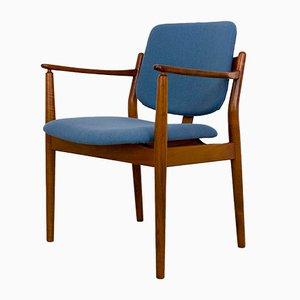 Dänischer Vintage Teak Armlehnstuhl von Helge Sibast für Sibast