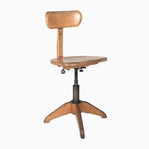 Chaise de Bureau Vintage Industrielle de Giroflex Stoll, 1930s