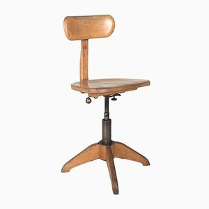 Vintage Industrial Office Chair from Giroflex Stoll, 1930s