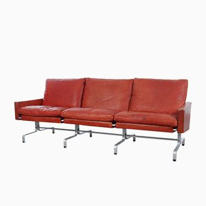 Vintage PK31/3 Sofa by Poul Kjaerholm for E. Kold Christensen