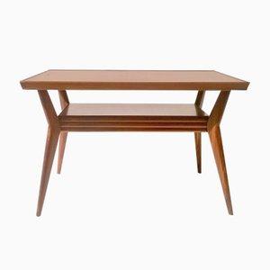 Table Basse Art Déco en Acajou, Italie, 1930s
