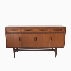 Fresco Teak & Afromosia Sideboard by V. Wilkins for G-Plan, 1970s