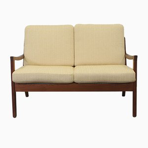 Vintage Teak Two-Seater Senator Sofa by Ole Wanscher for Cado