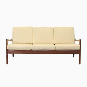 Vintage Teak Three-Seater Senator Sofa by Ole Wanscher for Cado