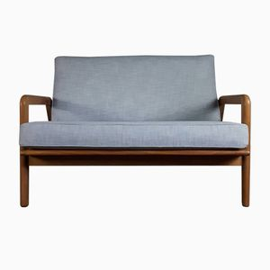 Mid-Century Two-Seater Studio Sofa