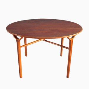 Tavolino da caffè Ax vintage di Peter Hvidt & Orla Mølgaard-Nielsen per Fritz Hansen