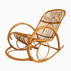 Dutch Rocking Chair from Rohe Noordwolde, 1960s