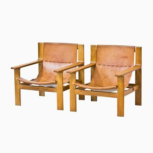 Easy Chairs by Bertil Fridhagen for Bodafors, 1960, Set of 2