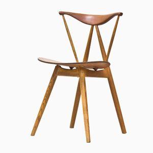 Piano Chair von Vilhelm Wohlert für P. Jeppesens Møbelfabrik, 1950er