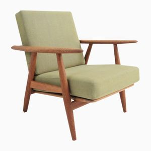 Mid-Century The Cigar Armchair by Hans J. Wegner for Getama