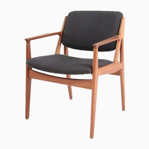 Mid-Century Teak Armchair by Arne Vodder for Vamo
