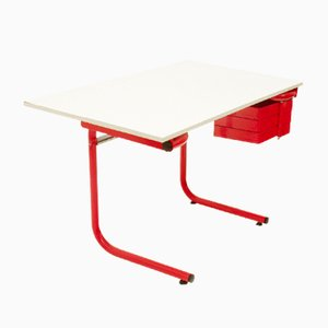 Mid-Century Desk by Joe Colombo for Bieffeplast