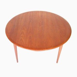 Table Basse Vintage par Peter Hvidt & Orla Mølgaard-Nielsen pour France and Søn, 1950s