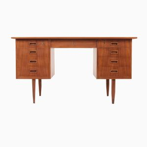 Danish Mid-Century Teak Writing Desk, 1960s