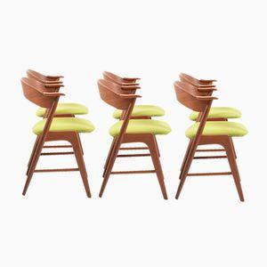 Chaises de Salon Vintage en Teck par Kai Kristiansen pour Korup Stolefabrik, Set de 6