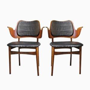 Armchairs by Arne Hovmand Olsen, 1960s, Set of 2