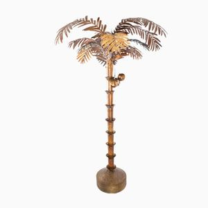 Vintage Palm Tree Floor Lamp, 1980s