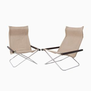 Vintage NY Chairs by Takeshi Nii, Set of 2