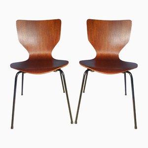 Mid-Century Danish Teak Stacking Chair