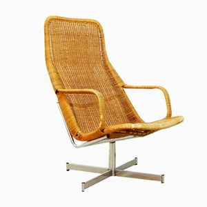 Model 614c Swivel Chair by Dirk van Sliedregt for Gebroeders Jonkers, 1960s