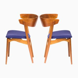 Vintage Model No. 7 Chairs by Helge Sibast, Set of 2