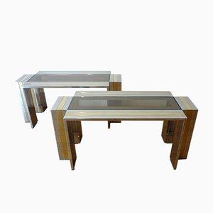 Coffee Tables by Romeo Rega, 1970s, Set of 2