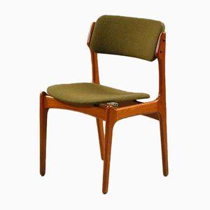 Model 49 Teak Dining Chair by Erik Buch for Odense Maskinsnedkeri, 1960s