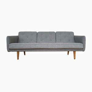 Mid-Century Danish No. 1 Sofa by Borge Mogensen for Fredericia