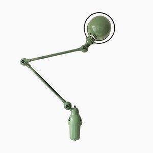 Lampe de Bureau Vintage Verte par Jean Louis Domecq pour Jieldé