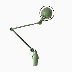 Vintage Green Desk Lamp by Jean Louis Domecq for Jieldé