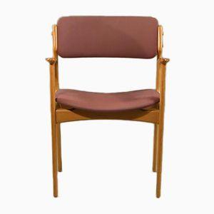 Vintage Modell 50 Eichenholz Armlehnstuhl von Erik Buch für Odense Maskinsnedkeri, 1970er
