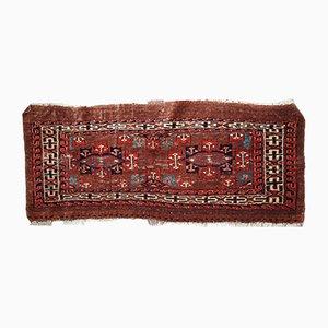 Antiker Handgemachter Türkischer Yomud Teppich, 1880er