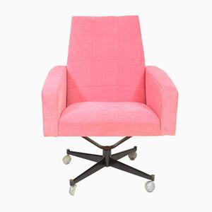 Pink Swivel Armchair, 1970s