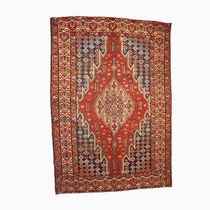 Antiker Persischer Handgemachter Mazlahan Teppich