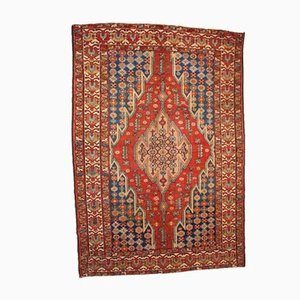 Antique Persian Handmade Mazlahan Rug