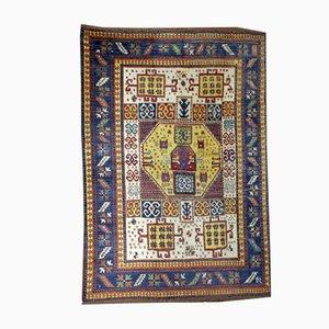 Antiker Kaukasischer Handgeknüpfter Kazak Karachov Teppich, 1940er
