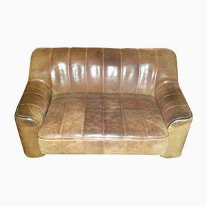 Vintage Modell DS 44 Zwei-Sitzer Sofa von De Sede
