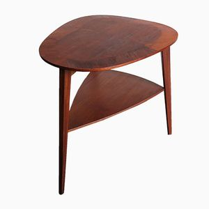 Danish Teak Side Table, 1950s
