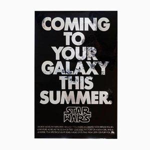 Poster vintage di Star Wars, Stati Uniti, 1977