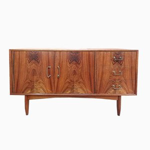 Vintage Mid-Century Palisander & Teak Sideboard, 1960er