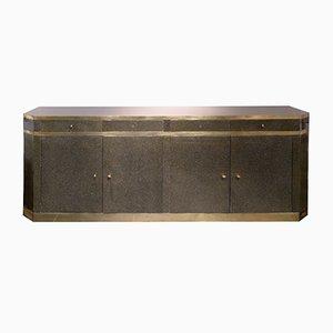 Art Deco Enfilade aus Lackiertem Holz von Jean-Claude Mahey