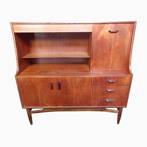 Vintage Teak Mid to High Sideboard, 1965