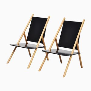 Finnish Lounge Chairs by Yrjo Wilherheimo and Rudi Merz for Korkeakosko, 1970, Set of 2