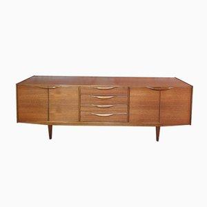 Großes Organisches Teak Sideboard von McIntosh, 1965