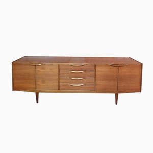 Large Organic Teak Sideboard from McIntosh, 1965