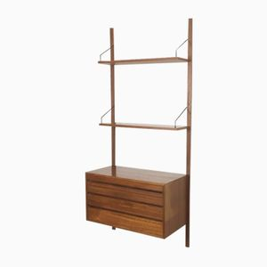 Teak Royal System with Three Drawers by Poul Cadovius for Cado, 1960s